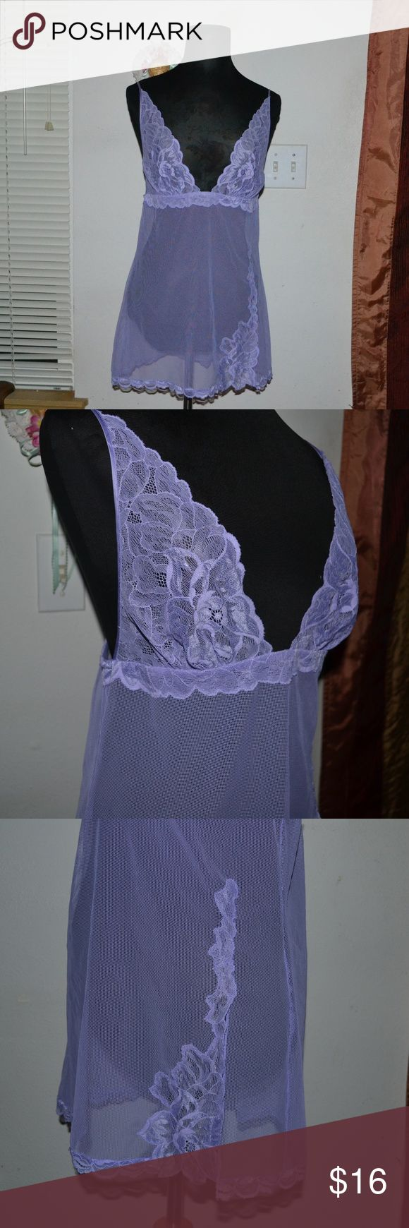 Victoria Secret silk lavender baby doll Smoke free home! I ship Monday - Friday! NO HOLDS OR TRADES!!! Offers are always welcomed as long as they're submitted through the OFFER BUTTON!   A gorgeous lavender cami by the brand Victoria Secret  main fabric  72% nylon 28% spandex component fabric 100% silk size medium. Victoria's Secret Intimates & Sleepwear Chemises & Slips