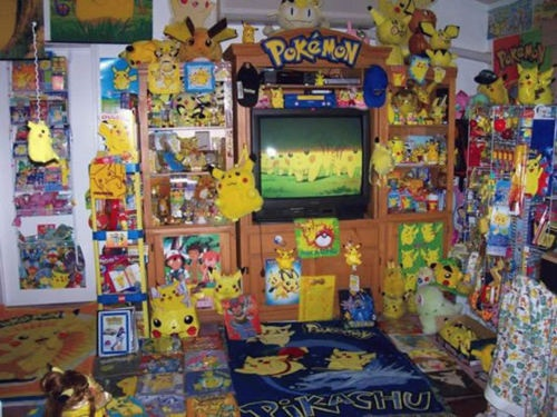 Pokemon Room Mostly Pikachu