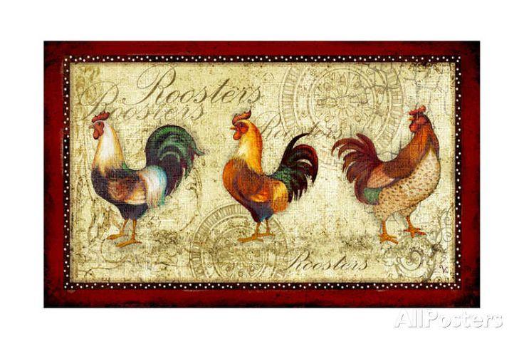 Three Roosters| Viv Eisner