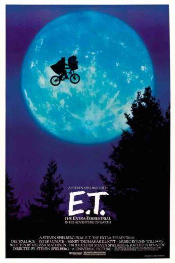 Spielberg sempre pirando geral nas suas produções . Na a toa ET é e sempre será um clássico da telona . ET eu estarei aqui para você se você quiser vir a mim . P.s - eu tenho balinhas e um telefone ! 5 vôos de bicicleta em frente a lua ( pq qualquer um quer isso ! ) by V!cious