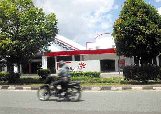 Kantor Telkom Pontianak./kli
