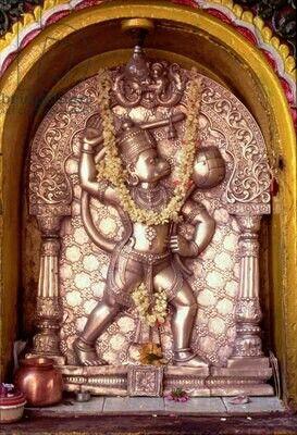 Lord Hanuman chamundi temple mysore ..