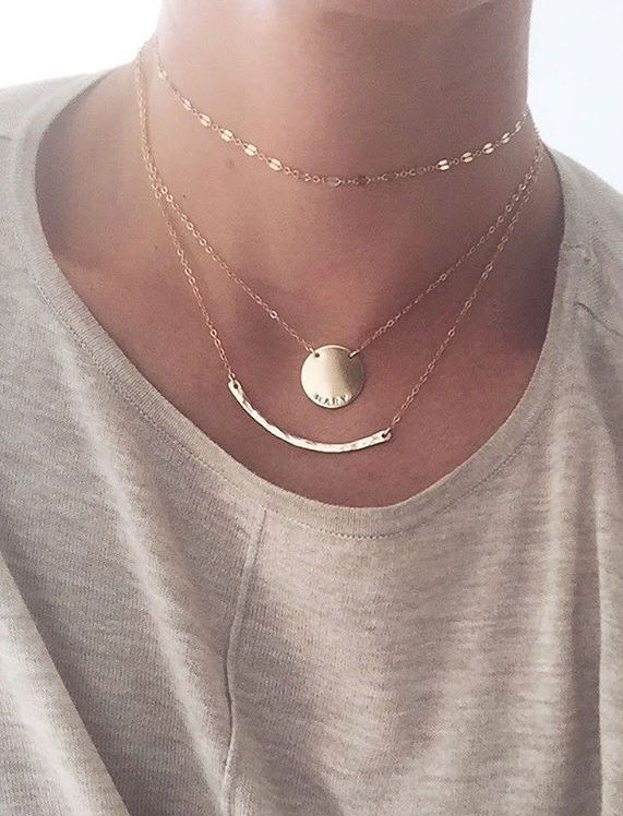 Add some handcrafted glimmer to your day (or night). This minimal statement piece is beautiful layered or on its own. This is quickly becoming a M|M must-have for any jewelry aficionado. (Please note
