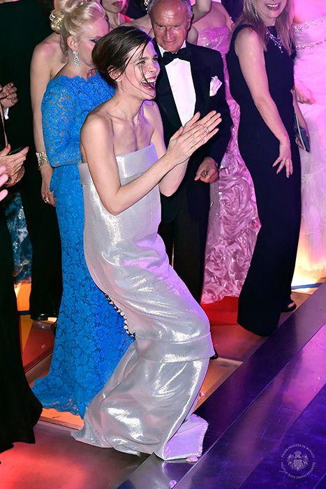 Charlotte Casiraghi joins the Monaco royal family for the Monaco Rose Ball - hellomagazine.com 2014