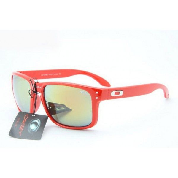 blue oakley holbrook 6fjc  $1299 Cheap Oakley Holbrook Sunglasses Red Frame Yellow Blue Iridium Shop  Deal wwwracal