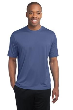 Bring on the competition. This value-priced, ultra breathable tee takes on any activity with sweat-wicking performance and heathered good looks.