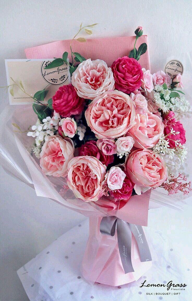 ورود رومانسية للاهداء How To Wrap Flowers Floral Bouquets Luxury Flowers