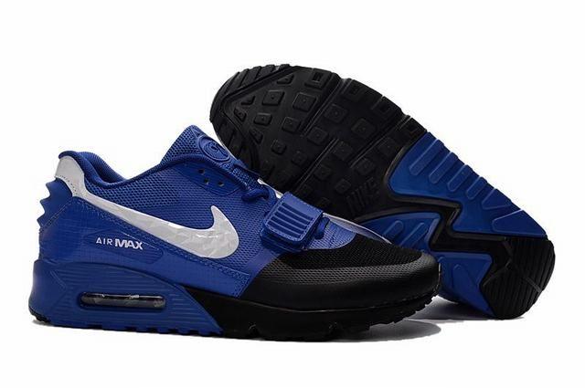 Conception innovante 72e1a ba618 nike air max one premium air max 90 yeezy noir et bleu homme ...