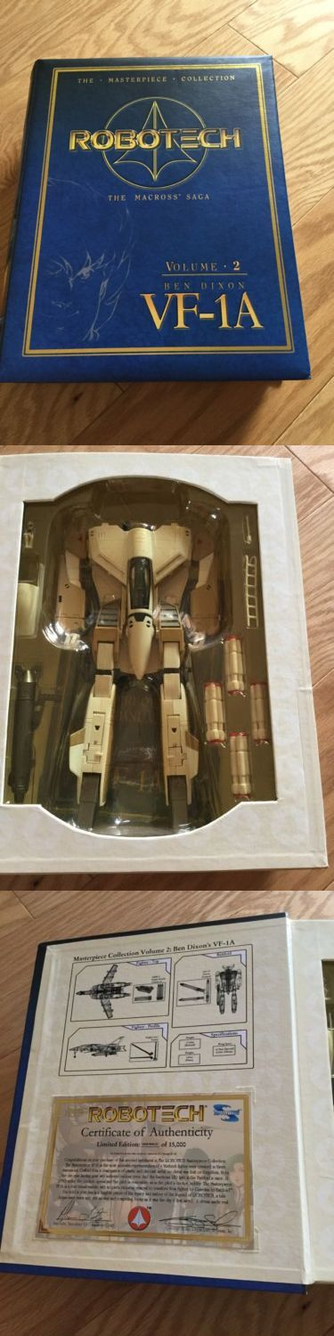 Transformers and Robots 83732: Toynami Transformers Masterpiece Collection - The Macross Saga: Vf-1A: Ben Dixon -> BUY IT NOW ONLY: $90 on eBay!