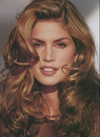 I pinned Cindy Crawford because I never cared for supermodels.