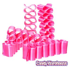 Old Fashioned Thin Ribbon Candy - Pink: 8-Piece Box | CandyWarehouse.com Online Candy Store