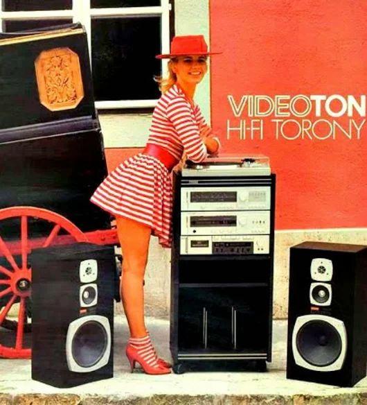 High Fidelity Hungary. AKAI - VIDEOTON cooperation 1983. www.1001hifi.com