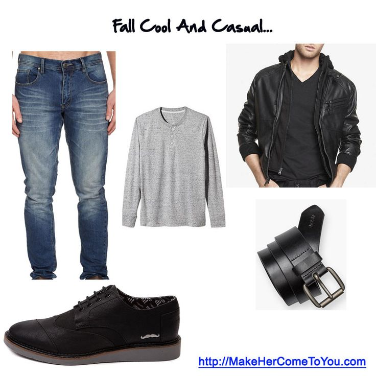 Fall cool and casual. Shirt @oldnavy Jacket @expressrunway Shoes @toms Belt @levis Jeans @cottonon   Free PDF - http://makehercometoyou.com   #mensstyle #mensfashion #mensstreetstyle #dapper #streetstyle #wiwt #mensstyleguide #instafashion #handsomeguysecrets #teamhandsomeguy #datingadvice #firstdate #whathewore #whattowear #mystyle #gq #ootd #toms #cool jacket #mensfallfashion #badboy