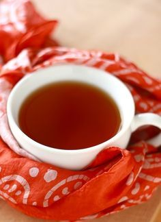 Don't throw those orange peels away - make Orange Clove Tea to detox after all that Halloween candy