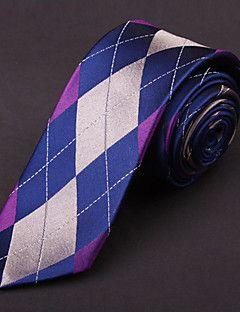 flerfarvet silke slips