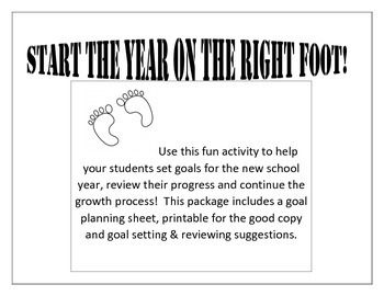 SMART goal setting. Start your year on the RIGHT foot!