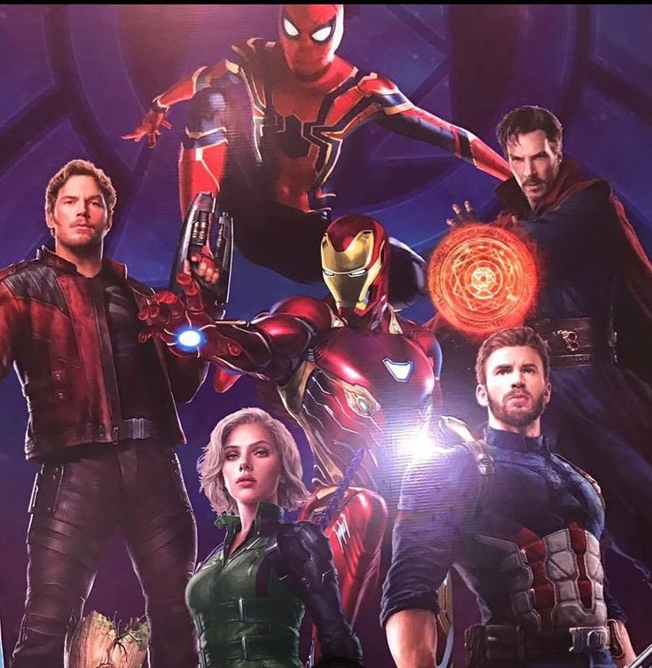 AVENGERS: INFINITY WAR Promo Art Offers Fresh Looks At Iron Man, Black Widow, & Spider-Man's New Suits