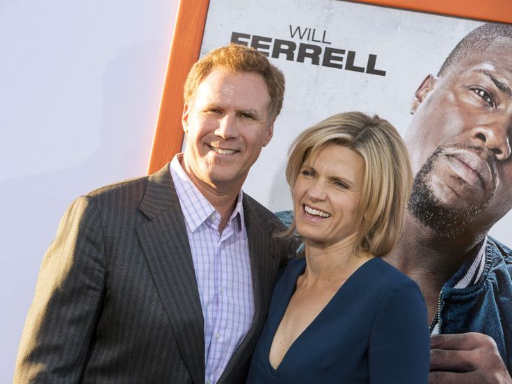 """Get Hard"" co-star Will Ferrell and his wife, Viveca Paulin, arrive at the premiere under Hart's watchful eye. The comedy will be in theaters Friday.  Rich Fury, Invision via AP"
