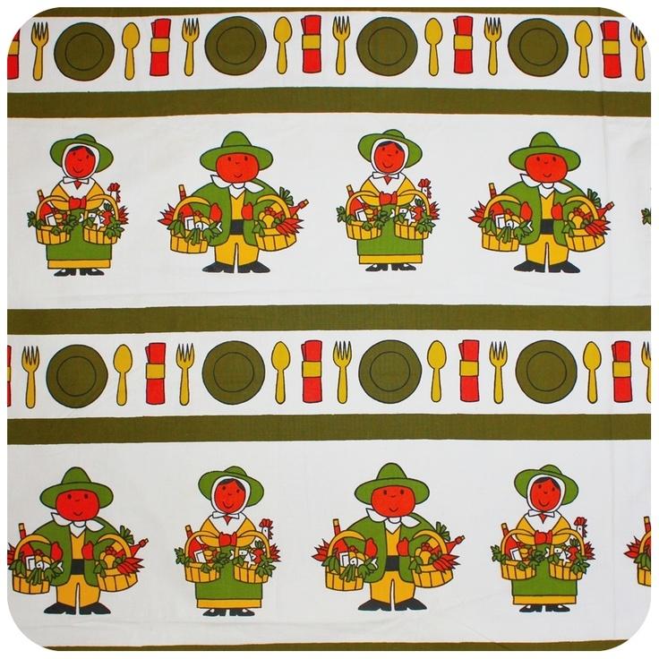 Vintage Dick Bruna fabric