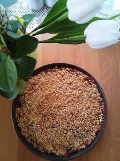 Hobbylka: Rebarborový koláč