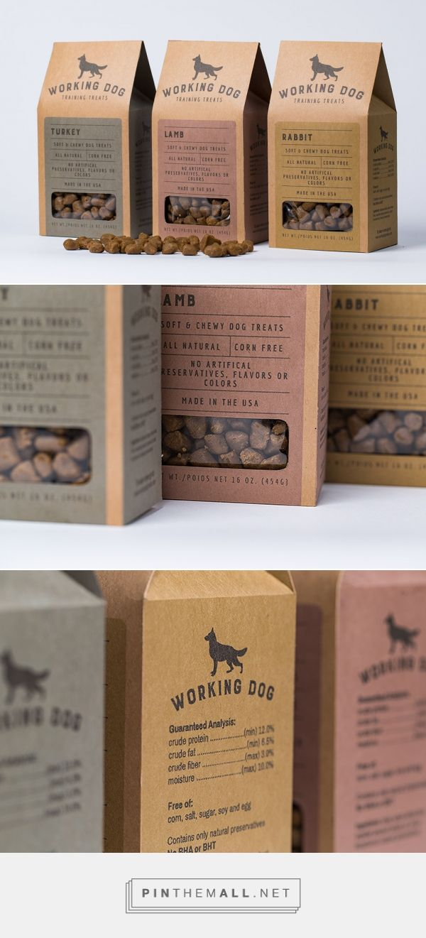 Student Brand And Packaging Design Concept For Dog Train Treats