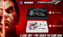 HORI to Release Official TEKKEN 7 Fightsticks for Playstation 4 and Xbox One, Both PC Compatible