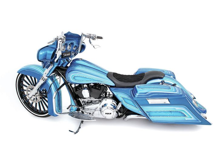 Some people may like it, some may hate it, but for this 2012 Harley-Davidson Street Glide if people are talking about it, then it's doing its thing.