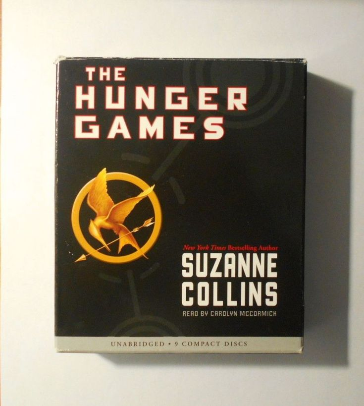 The Hunger Games Audiobook by Suzanne Collins 2008, Nine Discs