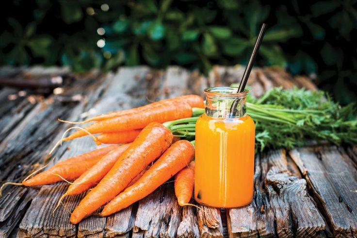 Blahodárný mrkvový sirup