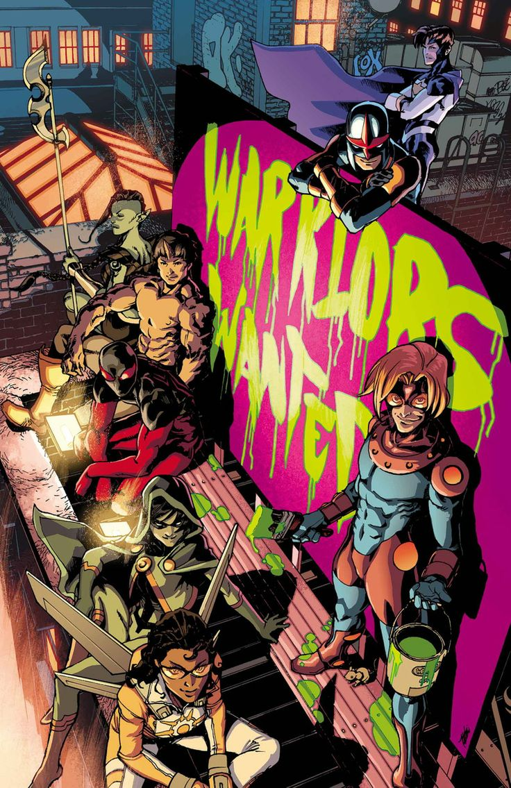 New Warriors #7 July 2014 Christopher Yost (w) €� Marcus