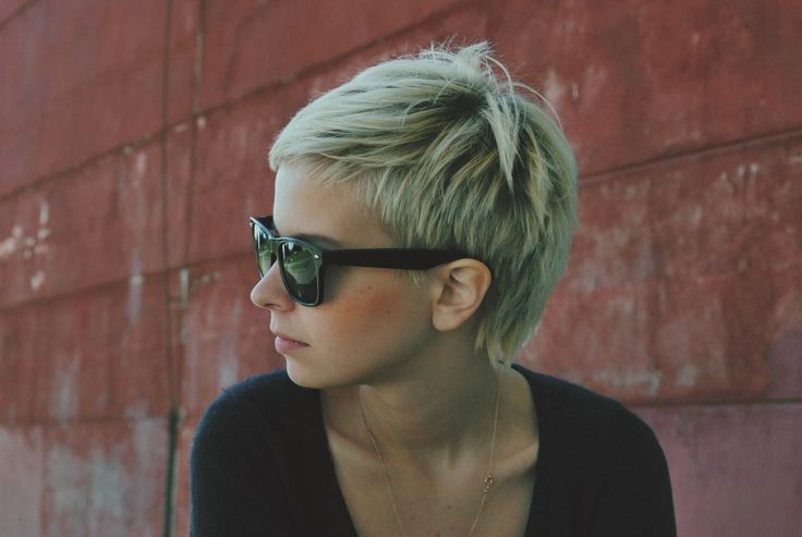 Pixie that can be styled as a mohawk