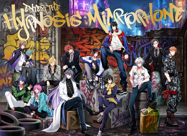 Hypnosis Mic Division Rap Battle Jacket of 'Enter the