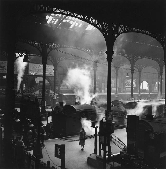 Londres, Liverpool Street Station. 1947
