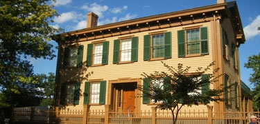 Lincoln's Springfield home Springfield, IL