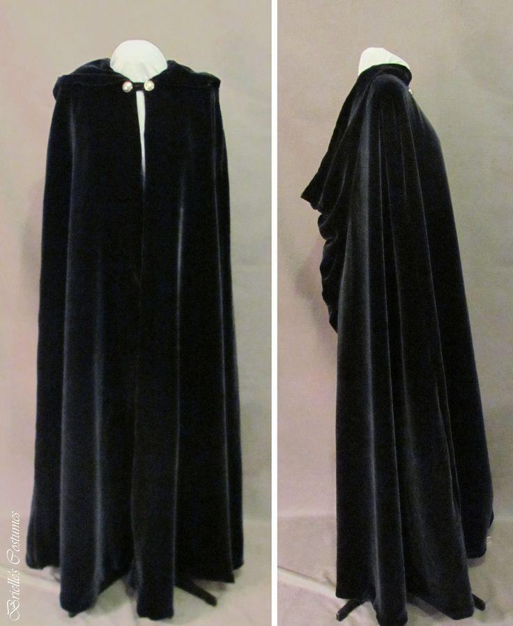 Silk Velvet Elvish Cape By Brielle S Costume Wardrobe