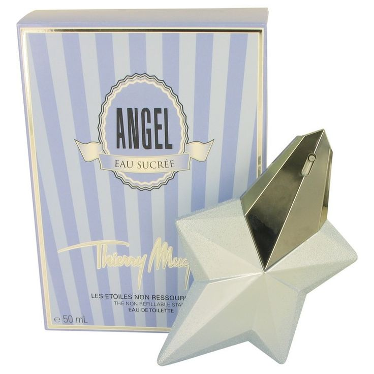New #Fragrance #Perfume #Scent on #Sale  Angel Eau Sucree by Thierry Mugler 1.7 oz EDT Spray - This fragrance was created by the house of Thierry Mugler with perfumer Dorothee Piot and released in 2014.  It is a sweet oriental vanilla perfume that is spirited yet not overdone.  Yummy notes in the blend lend to creating a perfume that is unusual and fun to wear.. Buy now at http://www.yourhotperfume.com/angel-eau-sucree-by-thierry-mugler-1-7-oz-edt-spray.html