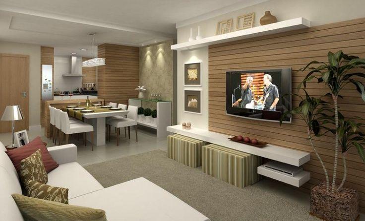 Tv jantar e cozinha home pinterest for Modelos de apartamentos pequenos