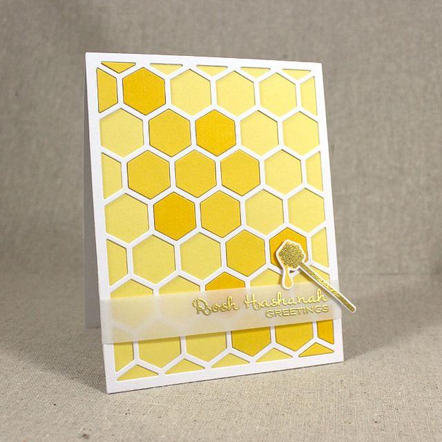 Honey Rosh Hashanah Card | by elizabeth.poshta