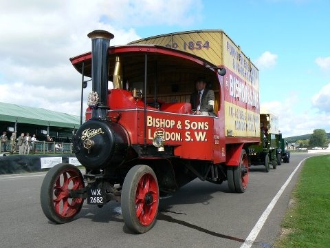 #OurHistoricVehicles #BishopsMove #Foden at #GoodwoodRevival #2012