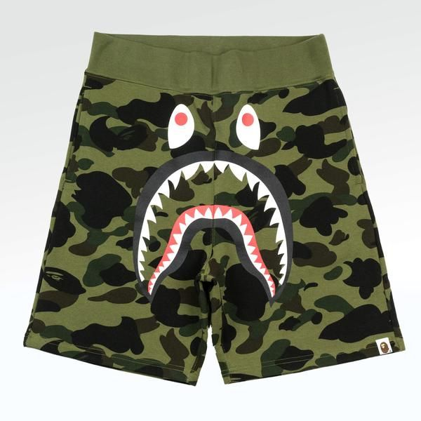 @ BAPE Bathing Ape men/'s double-sided casual pants youth camouflage shorts summe