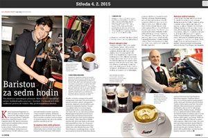 Jak se stát z novináře baristou?  Přečtěte si v magazínu Metro http://magazin.metro.cz/#strana=36