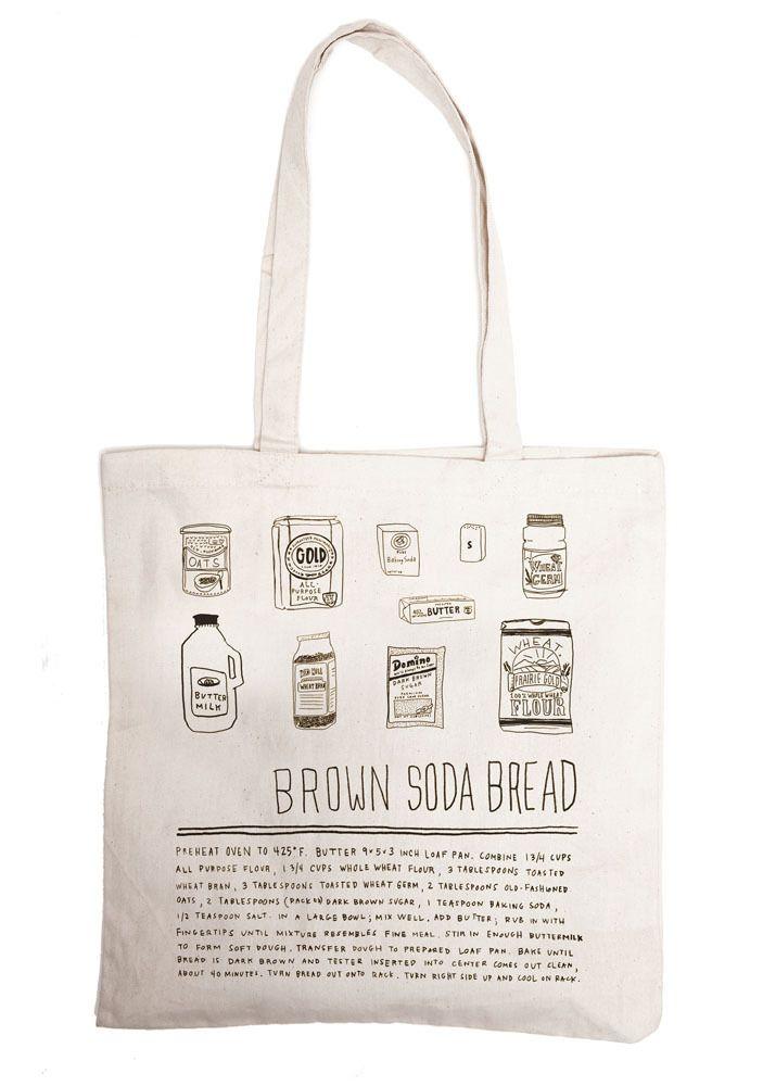 irish soda bread - grocery bag