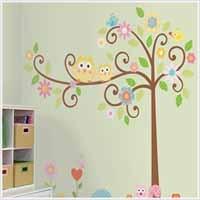 Katie's room decor: Kids Bedrooms, Wall, Trees Wall Murals, Wall Decals, Owl, Trees Murals, Wall Stickers, Girls Rooms, Kids Rooms