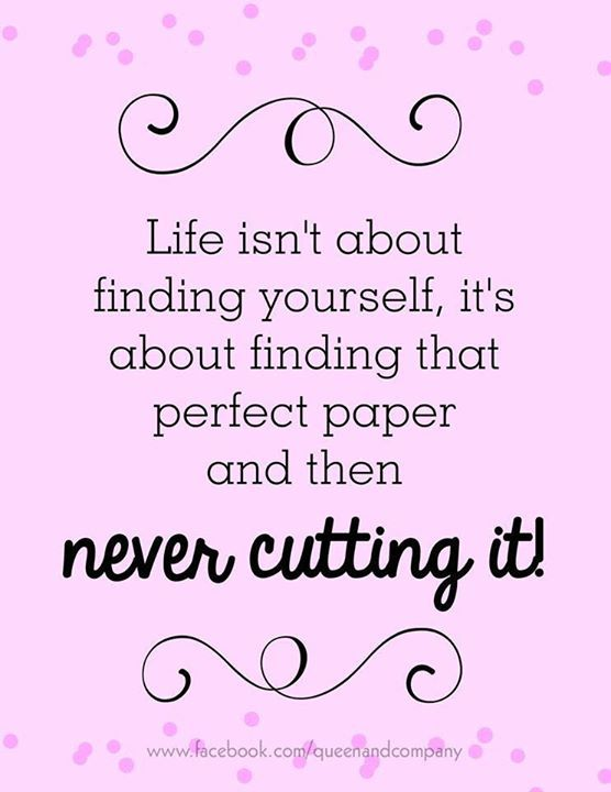 don´t cut it!