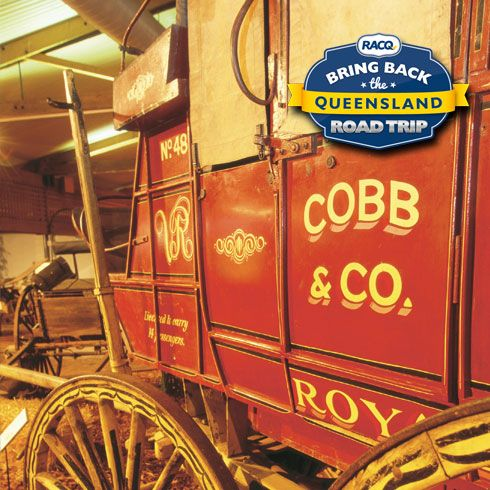 Cobb & Co Tourist Drive - Ipswich to Toowoomba following the railway line and original road. The Cobb & Co Tourist Drive is an alternate route which follows the railway line and original road from Ipswich to Gatton. The townships along the route boast a number of historical pubs and magnificent buildings.  See more at www.racq.com/roadtrip.
