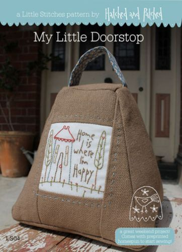 My Little Doorstop | Hatched and Patched