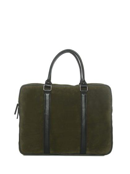305c13a51732 Green P.U. Office Messenger Bag