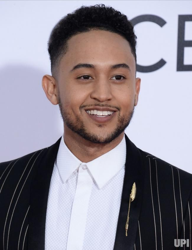 Actor Tahj Mowry attends the 43rd annual People's Choice Awards at the Microsoft Theater in Los Angeles on January 18, 2017. Photo by Jim…