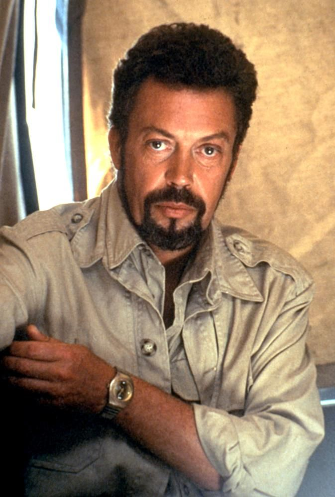 CONGO, Tim Curry, 1995  | Essential Film Stars, Tim Curry http://gay-themed-films.com/essential-film-stars-tim-curry/