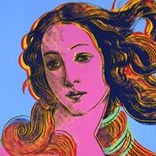venus by andy: Pop Art, Details, Sandro Botticelli, Renaissance Paintings, Paintings Sandro, Visual Art, Births Of Venus, 1482, Andy Warhol